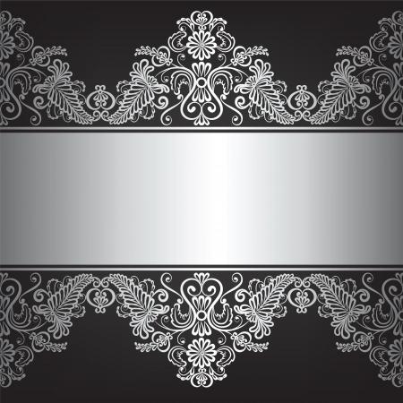 joyas de plata: Fondo con el marco de la joyer�a de plata