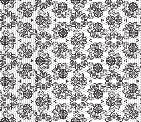 tissue texture: Seamless lace floral pattern