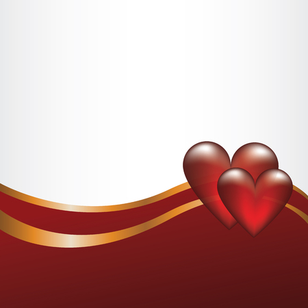 Red Heart on Valentine Stock Vector - 25069263
