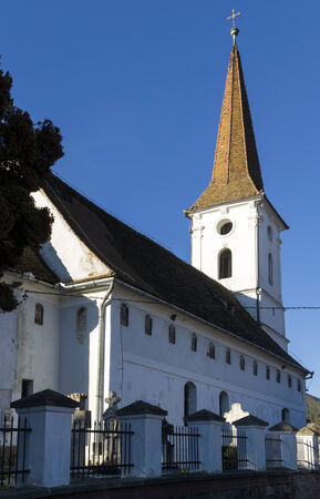 rumania: The Holy Trinity Church in Sibiel, Romania