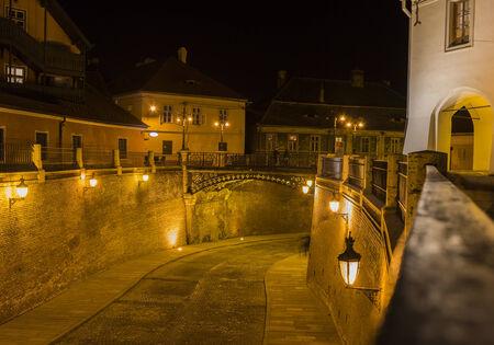 rumania: The Bridge of Lies in Sibiu, Romania