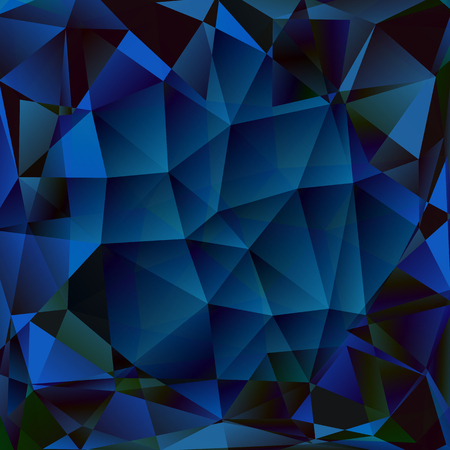 sapphire: Abstract polygon background. Surface of precious stone Illustration