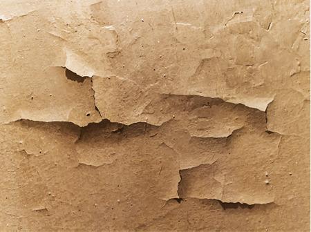 crackle: Surface with cracked paint  Grunge background  Vector illustration Illustration