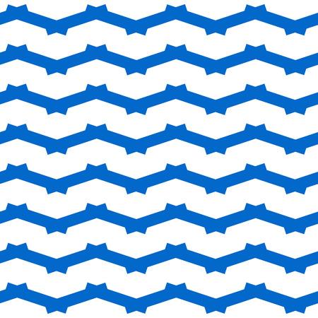 zag: Seamless white background with zig zag pattern