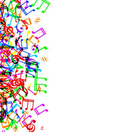 9 343 music border stock vector illustration and royalty free music rh 123rf com music notes border clip art free music notes border clip art