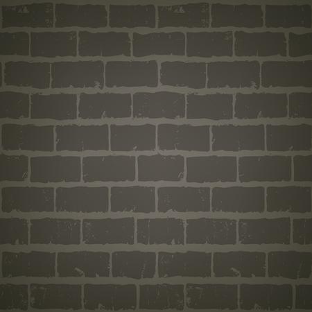 abandoned house: Grunge texture of gray brick wall at night