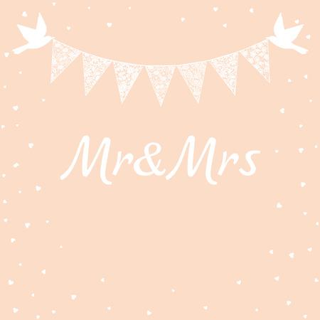 lace: Plantilla de tarjeta de invitaci�n de boda con blanco color�n encajes y l�mpara de ara�a sobre fondo violeta