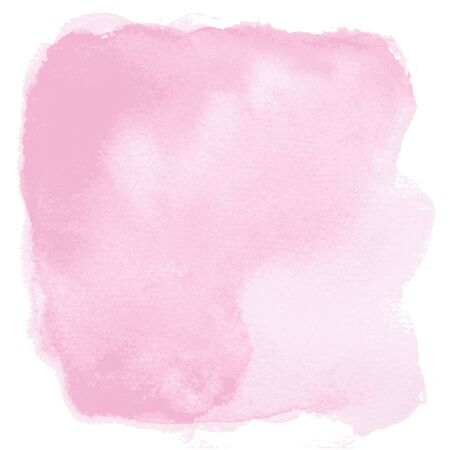 pink background: Abstract pink watercolor background isolated on white