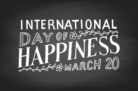 international: International Day of Happiness Illustration