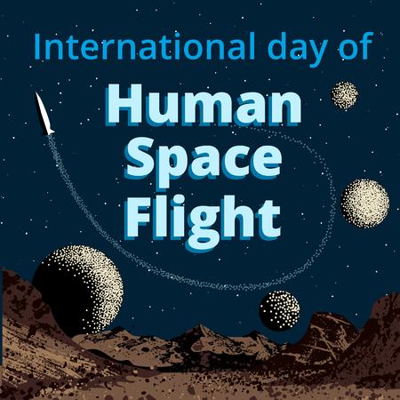 travel star: International day of human space flight