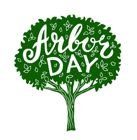 arbor: Arbor day Illustration