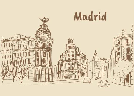 Madrid, capital of Spain