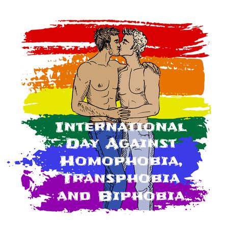 Homophobia, transphobia and biphobia Illustration