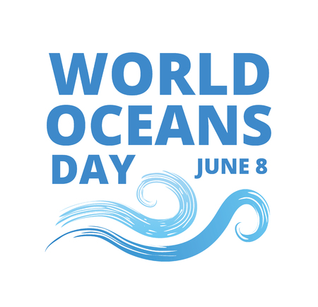 oceans: World Oceans Day Illustration