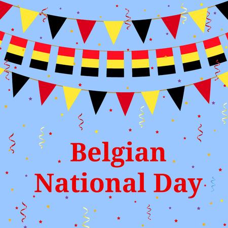 nationalism: Belgium day