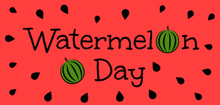Watermelon Day Illustration
