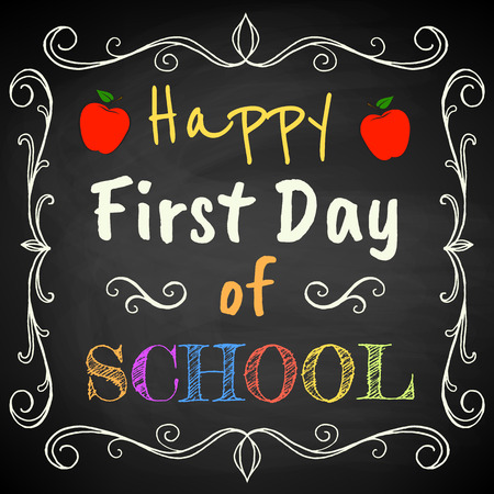 Premier jour d'école