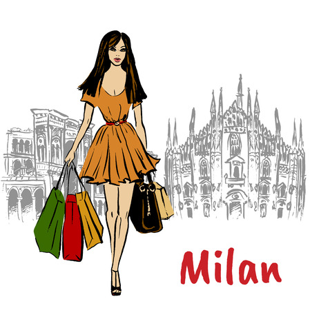 woman in Milan