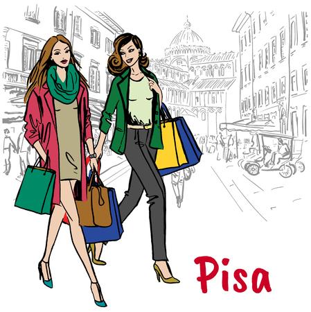 women in Pisa