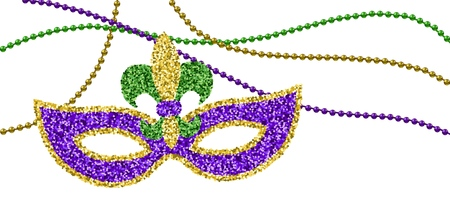 Mardi Gras decoration
