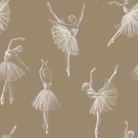 Nahtlose Ballerina