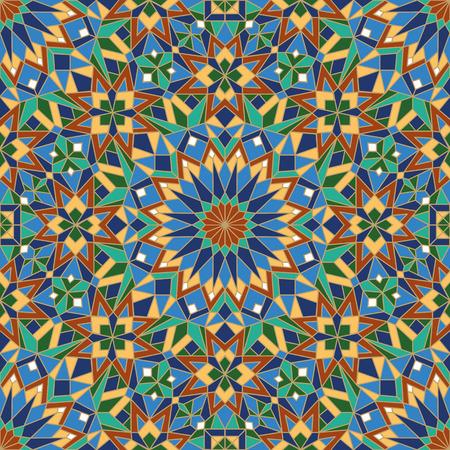 morrocan pattern Illustration