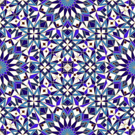 morrocan pattern Stock Illustratie