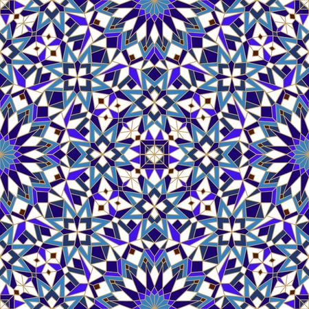 patrón marroquí Ilustración de vector