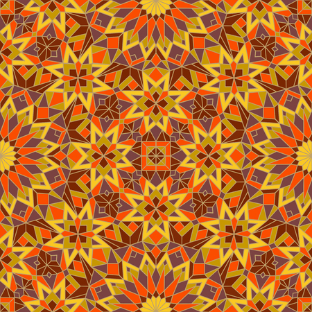 Morrocan seamless mosaic pattern. Arabic abstract background