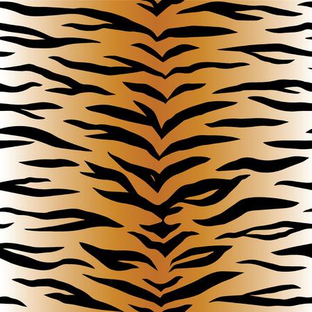 Tijger dierenprint Vector Illustratie
