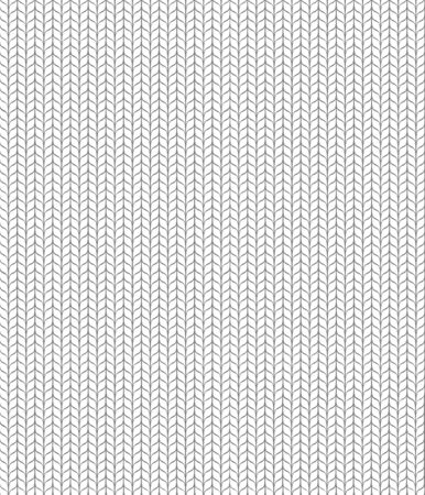 Seamless knitted white pattern. White backgroung Stock Illustratie