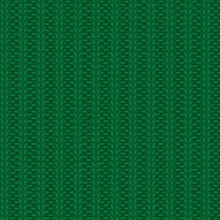 rib knit green pattern