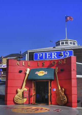 Hard Rock Cafe in San Francisco on Pier 39