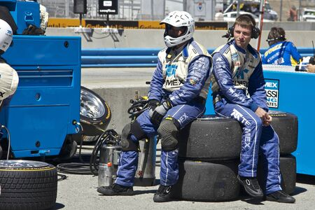 Grand AM Rolex Races, Mazda Raceway Laguna Seca, September 9, 2012 Stock Photo - 15744849