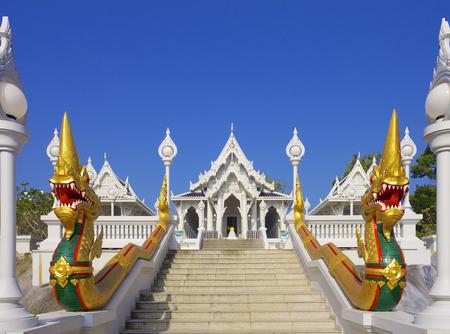 Wat Kaew Korawaram Temple  in Krabi, Thailand photo