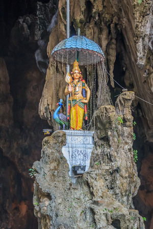malai: Hindu godess in the Batu Caves, Kuala Lumpur - Malaysia