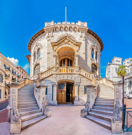 The national court house of the country of Monaco Stock Photo