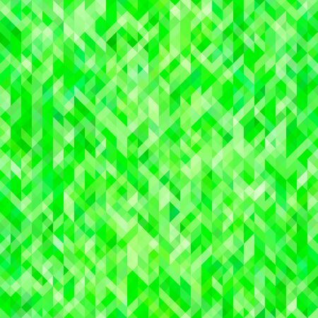 virid: Green abstract geometric background. Background for brochures, web design, leaflets, banners. Green wallpaper with geometric pattern. Raster illustration