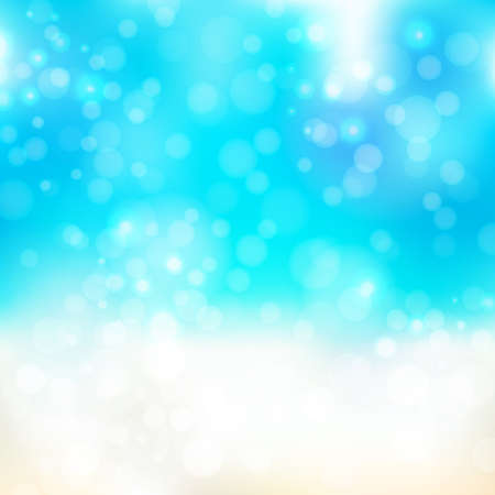 bitmap: Abstract background with bokeh effect. Illustration in bright colors. Bitmap illustration. Stock Photo