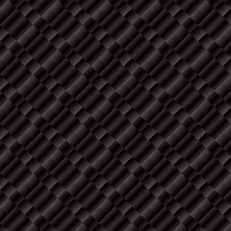 raster illustration: Abstract checkered background. Geometric pattern. Dark gray wallpaper. Raster illustration.