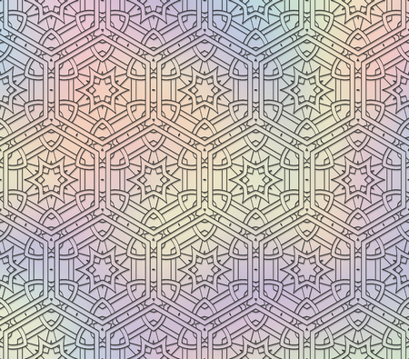 spellbinding: Holography pattern. Retro graphic. Multi color illustration. Vintage backdrop. Abstract wallpaper. Graphic art. Hipster background. Futuristic print. Geometry ornament.