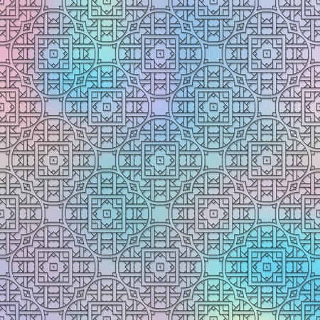 polychromatic: Holography wallpaper. Retro illustration. Polychromatic ornament. Vintage design. Abstract pattern. Graphic background. Hipster backdrop. Futuristic graphic. Geometry print.