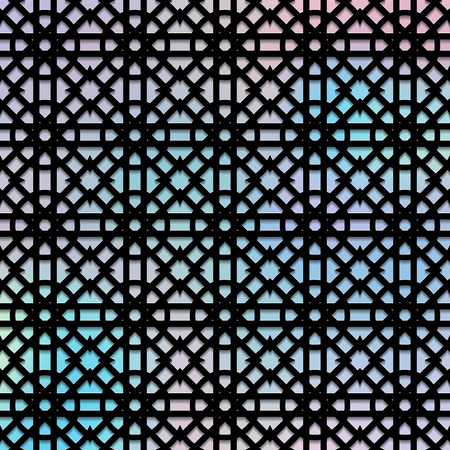 polychromatic: Holography design. Retro pattern. Polychromatic background. Vintage graphic. Abstract print. Graphic wallpaper. Hipster illustration. Futuristic ornament. Geometry art. Illustration