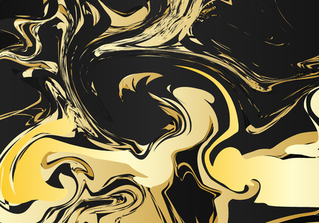 jasper: Marble graphic. Retro ornament. Christmas background. Gold wallpaper. Vintage design. Abstract pattern. Contrast print. Hipster art. Futuristic backdrop. Watercolor illustration. Illustration