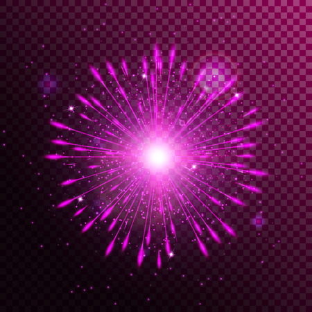 New year background. Abstract light. burst vector. Shining star. Sun glow. Illustration of a transparent backdrop.