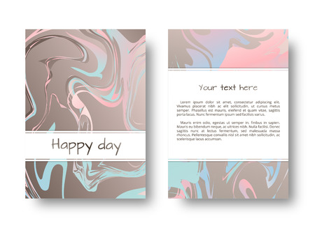 disorderly: Marble stone texture. Marbling ink. Art deco pattern. Hipster fashion. Graphic vector. Set for cover, flyers, leaflets, promotional offers, banners, brochures, booklets. Illustration