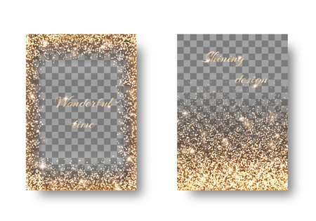 spellbinding: Set golden transparent background