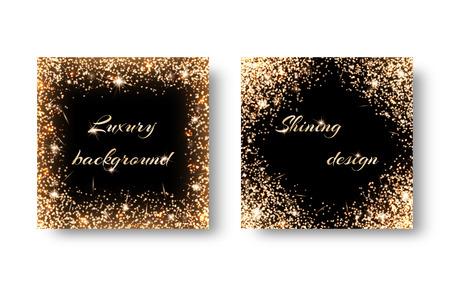 natty: Set golden bokeh