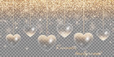 Heart of gold highlights