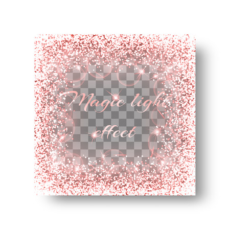 spellbinding: Sequins background with shining light. Glitter texture on a transparent backdrop.